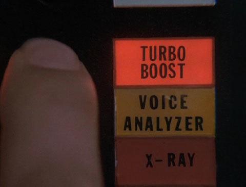 El turbo boost de El Coche Fantástico